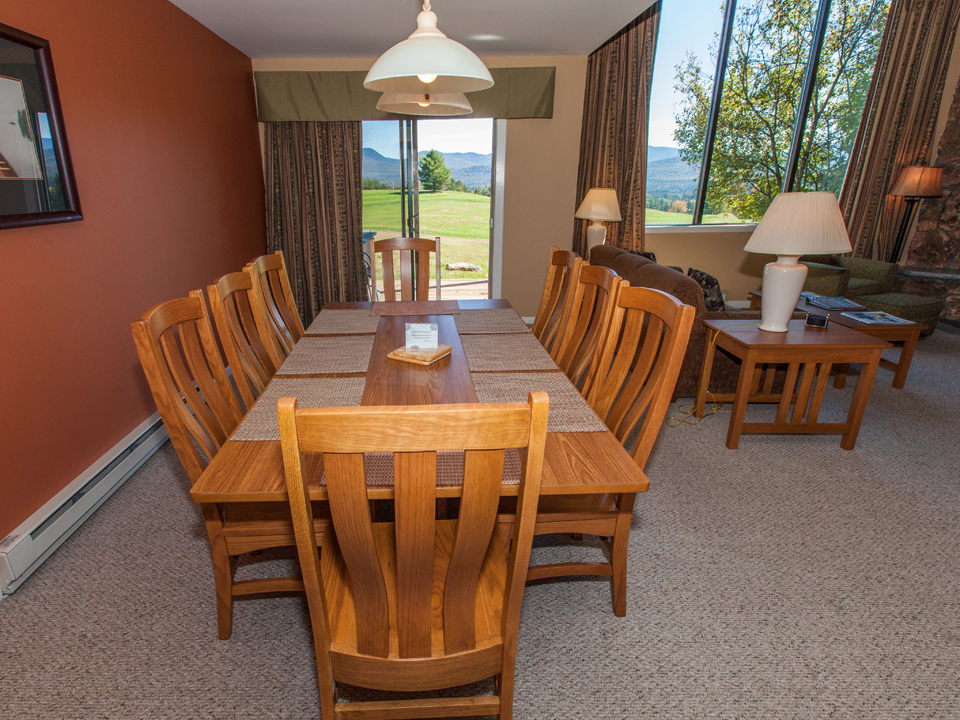 Main Living Space - Dining Area