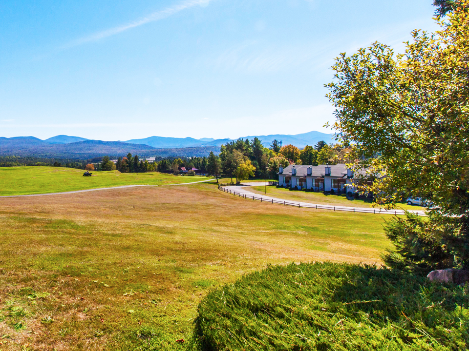 Exterior View of the Lake Placid Club Lodges