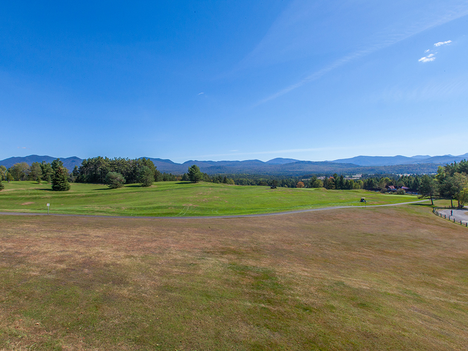 View of The Lake Placid Club Resort Golf Course