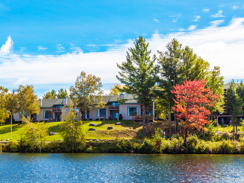 Property View of the Lake Placid Club Lodges - contact Lake Placid Accommodations for a private tour.