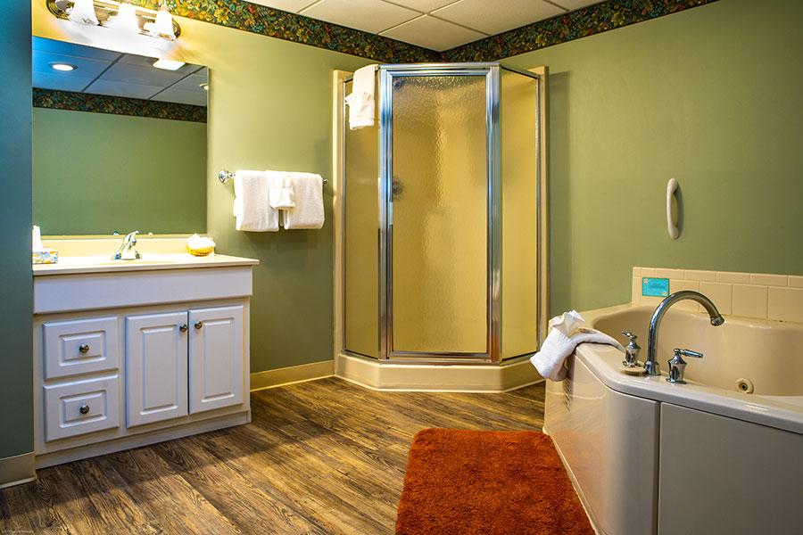 First Floor Bathroom - with Jet Tub & Sauna
